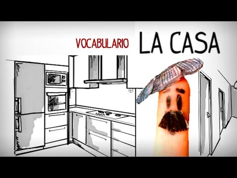 Vocabulaire La Maison Espagnol Facile Youtube