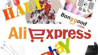 HAUL ALIEXPRESS , banggood, ebay #1