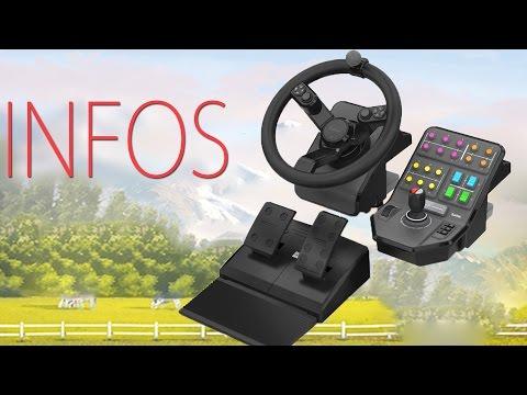 spezielles lenkrad fr den landwirtschafts simulator. Black Bedroom Furniture Sets. Home Design Ideas