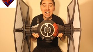 Star Wars The Force Awakens Black Series First Order Special Forces TIE Fighter & Pilot Review
