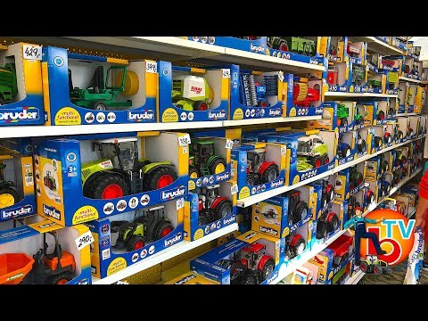 BRUDER TOYS Best of RC Tractors and Trucks!  | KIDS Video | Action Video