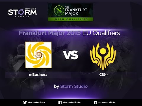 CIS Rejects vs Monkey Business, Frankfurt Major Qualifiers, game 1