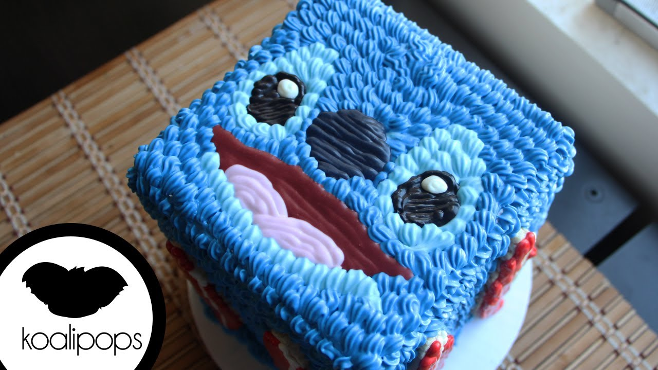 Stitch Cake Disney How To Youtube