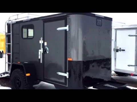 A Quick Tour Of Our New 5x10 Bug Out Off The Grid Tiny Camper