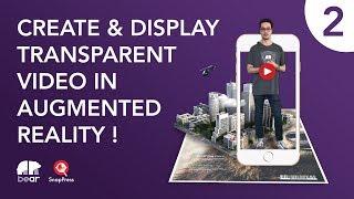 2 AR şeffaf arka plan ile ekran video - Yöntem