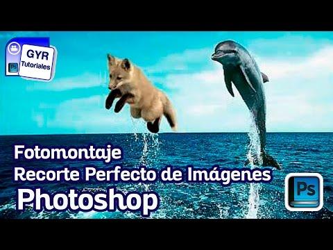 Como hacer un Recorte Perfecto de Imagenes / Photoshop cs5 / tutorial fotomontaje