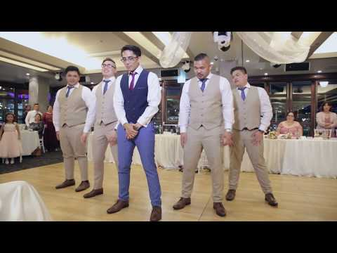 K-Pop (BTS, Big Bang & B1A4) / Disney Groomsmen Surprise Wedding Dance (Higher Quality)