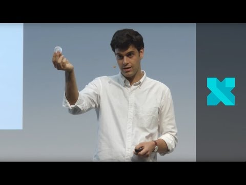 Rodrigo Garcia Gonzalez presents Ooho! - The Edible Water Bottle