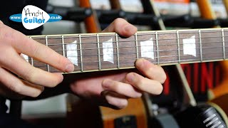 Super Fast 'Van Halen' Style Two Hand Tapping - even for BEGINNERS!