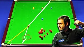 The Genius of Ronnie O'Sullivan ! Perfectly Calculated Breaks ᴴᴰ