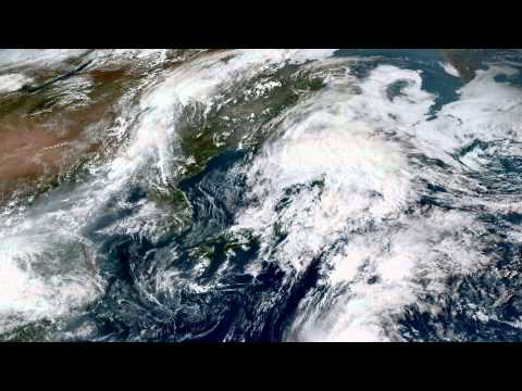 Earth From Space - Sep 18, 2015: Japan, Korea, Beijing & Shanghai
