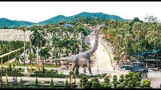 Экскурсия в Паттайе  Парк Динозавров Тропический сад Нонг Нуч  Паттайя 2020