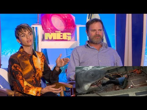 Ruby Rose & Rainn Wilson On Seeing 'Jaws' For The First Time