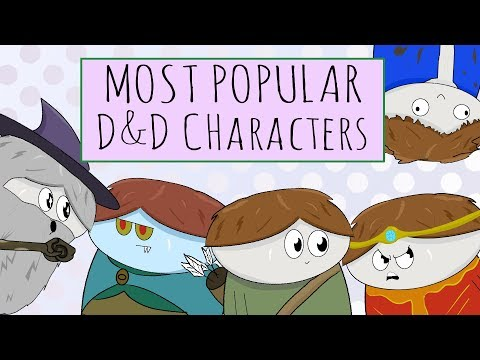 My favorite classes to play in D&D