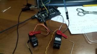 Fast servo DS-319HV (0.05 s) test -VS- Parallax