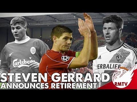 Steven Gerrard Retires! | LFC Fan Reaction