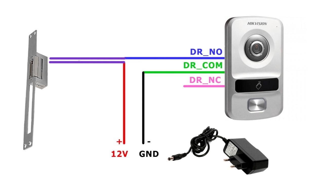 Схема подключения электромагнитного замка в частном доме