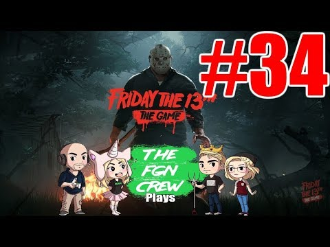 The FGN Crew Plays: Friday the 13th The Game #34 - Car Jacked