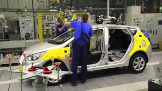 Производство и Сборка нового Киа Рио - завод Hyundai(Отзывы о новом Рио в клубе http://kiario4.ru - форум, отчеты, фотографии, цены и комплектации , видео снято http://autoua.net., 2011-08-26T08:22:56.000Z)