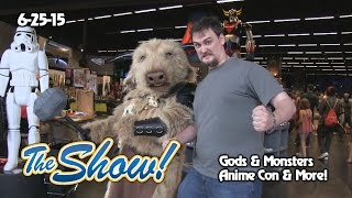 Attractions - The Show - Gods & Monsters; Anime convention; latest news - June 25, 2015