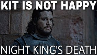 Kit Harington Speaks Out About The Night King's Final Scene! - Game of Thrones Season 8