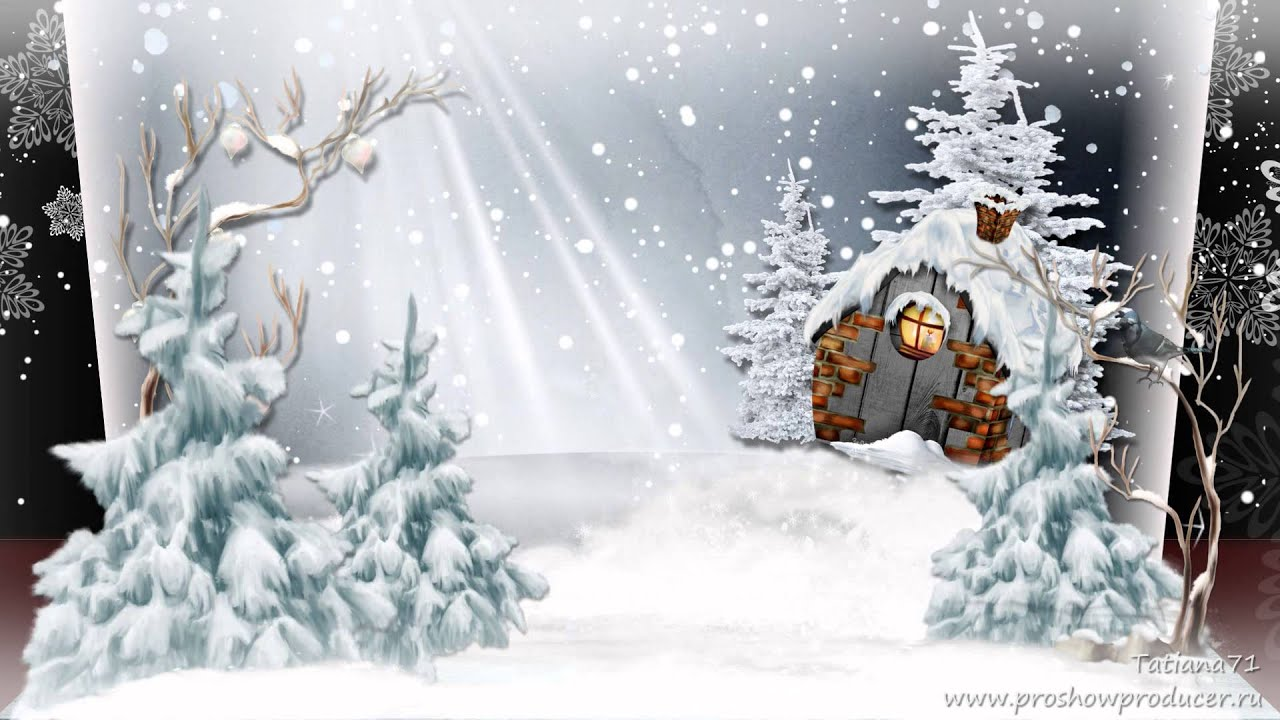 Сказки зимнего леса YouTube