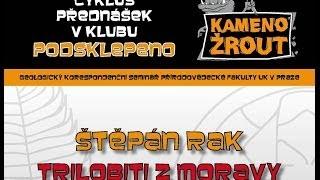 Mgr. Štěpán Rak – Trilobiti z Moravy
