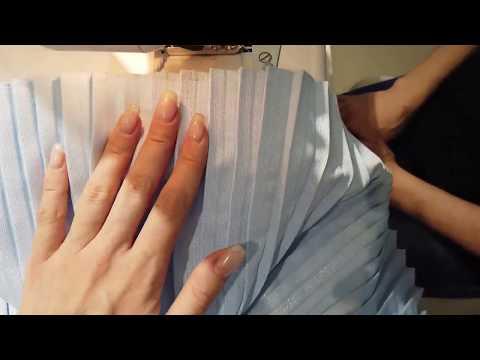 как сшить юбку плиссе