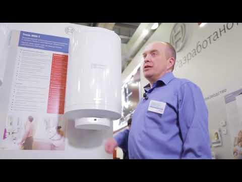 Видеообзор электрических накопительных водонагревателей Bosch Tronic 2000 и Bosch Tronic 8000