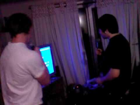 Adam Wood And Spud.. Attempting Karaoke