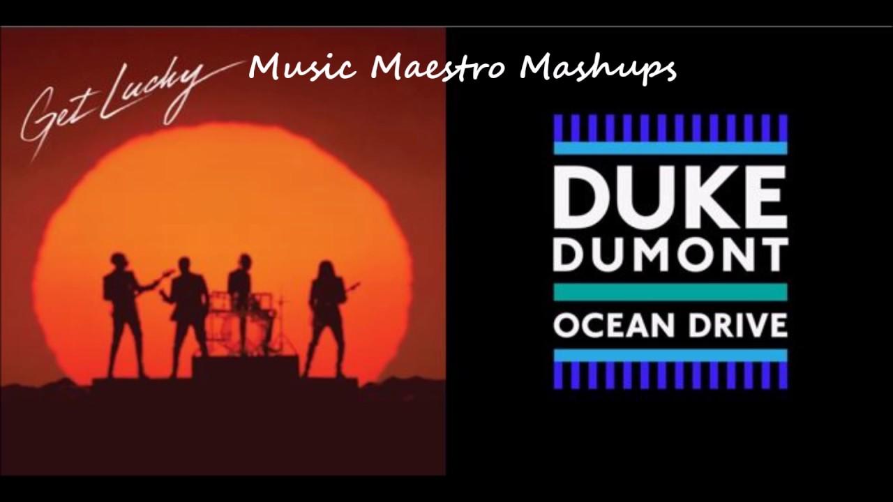 Get Lucky/Ocean Drive [Mashup] - Daft Punk, Duke Dumont & Pharell Williams
