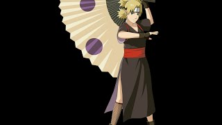 Drawing Temari on a Fan! Requested by: Mad Mads | Izzy n