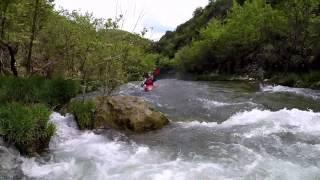 Lousios River kayaking course