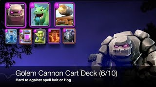 Golem Cannon Cart - Powerful tank for Cannon Cart but too expensive (6/10)