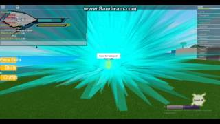 играем в ROBLOX мини игра драгон болл