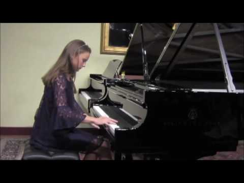 Ellie Sonne plays The Princess by Grieg