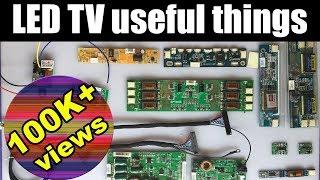 Must useful things for LED TV repair