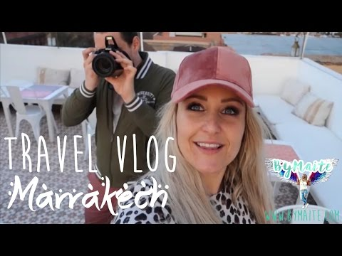 Hotspots & things to do in MARRAKECH ⏅ TRAVEL VLOG #1 ByMaite
