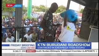KTN Burudani take roadshow to Kakamega