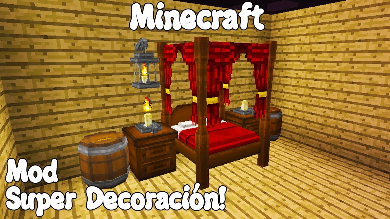 Minecraft 1 11 Mod Super Decoraciones Homecraft Mineware
