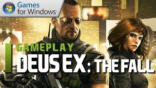 Deus Ex: The Fall - PC Gameplay & First Impressions (Commentary)