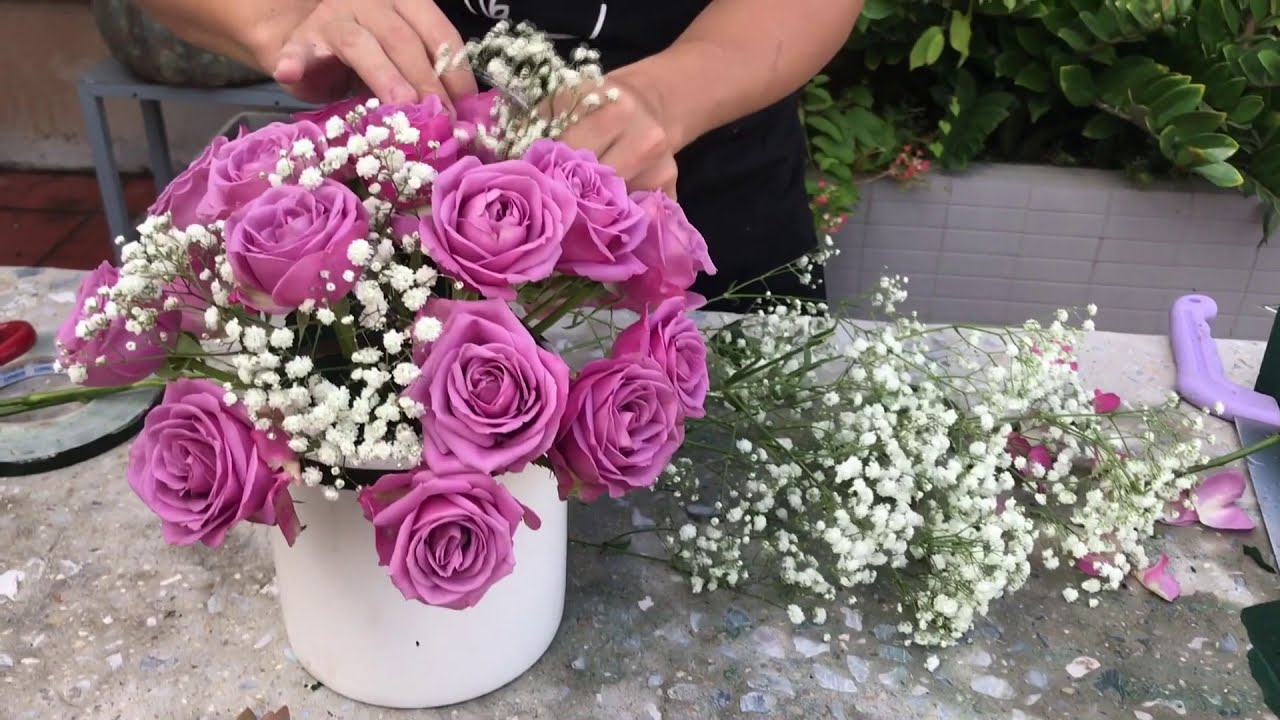 Hướng Dẫn Cắm Hoa Cơ Bản – Học Viện Flona