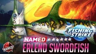 【釣魚大亨 Fishing Strike】Named Fish Erlend the connoisseur swordfish NorthSea