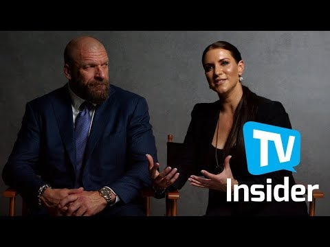 WWE's Triple H & Stephanie McMahon On Their Toughest Opponents & More | TV Insider