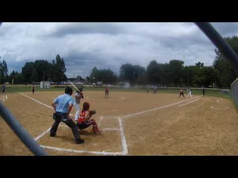 Lady Lookouts win over Ohio Road Warriors 11 to 0 070817 FULL