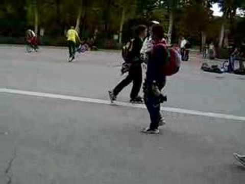 Retiro freestyle biking