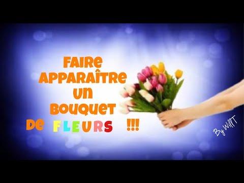 magie faire appara tre un bouquet tour de magie gratuit explication by will t youtube. Black Bedroom Furniture Sets. Home Design Ideas