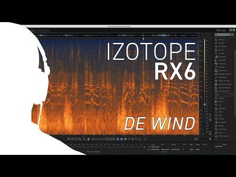 iZotope RX6 - Using De-wind