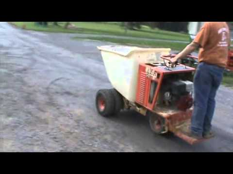 Miller MB16 Power Concrete Buggy Georga Buggy Honada 13HP For Sale Mark  Supply Co