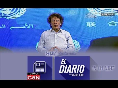 Pedro Brieger (Segmento internacional) -El Diario C5N 18/ 04 /2017